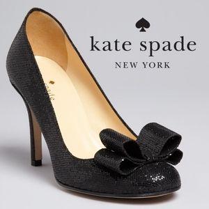 Kate Spade Krysta Heels Black